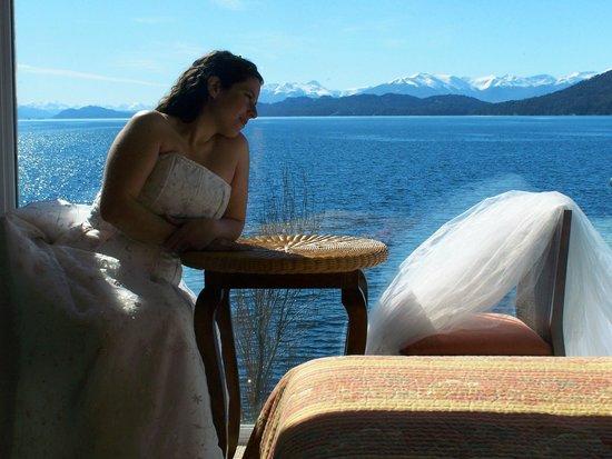 Apart Hotel Cabanas Balcon al Lago:                                                       en la suite