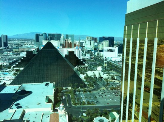 Four Seasons Hotel Las Vegas:                   View