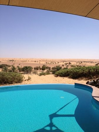 Al Maha, A Luxury Collection Desert Resort & Spa:                   the view outside our room