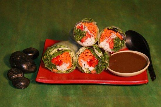 Slide Inn: Salad Rolls