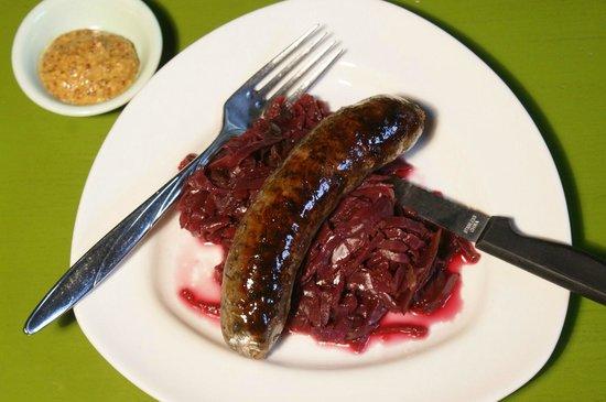 Slide Inn: House Smoked Hungarian Sausage
