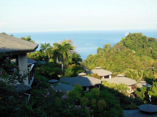 Tulemar Resort:                                     View from our balcony