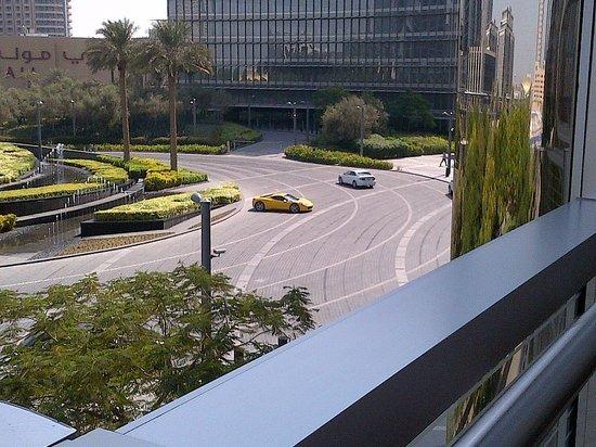 Armani Hotel Dubai:                   View from the Pool Area