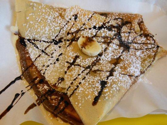 Osteria Filo: crepe nutella
