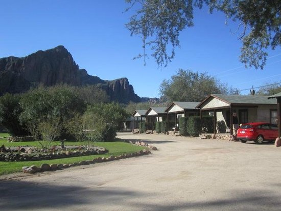 Saguaro Lake Guest Ranch:                   guest houses