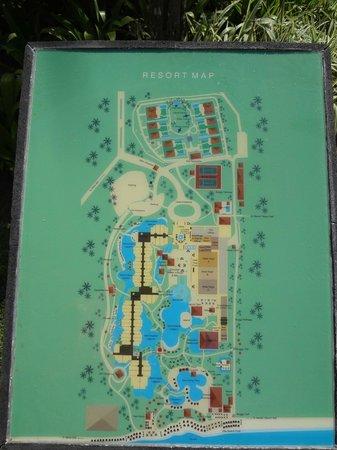The Laguna, a Luxury Collection Resort & Spa:                   Resort Map - Medium Sized Resort