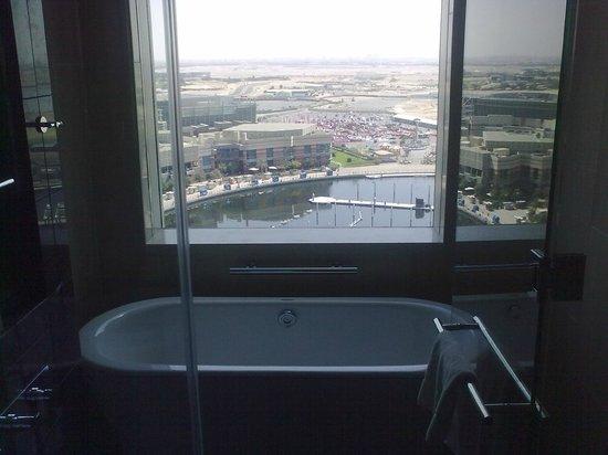InterContinental Dubai Festival City :                   View over Marina