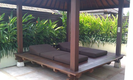 Sun Island Boutique Villas & Spa: Daybed upstairs