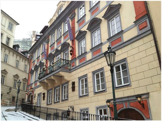 Alchymist Prague Castle Suites: From the outside.