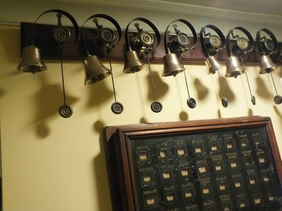 Gisborough Hall Hotel: Old bells