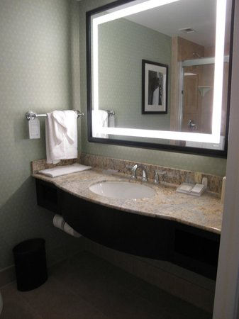 Hilton Garden Inn Washington DC/US Capitol:                   Vanity area