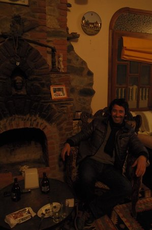 Villa Dreams:                   One of the owners-Veysel