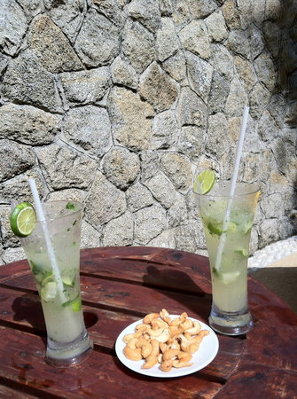 Centara Villas Phuket:                   NOt forget about the Mojito !!!