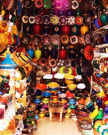 Riad Vert Marrakech:                   In Djema Al Fna square