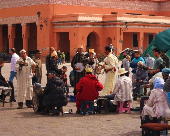 Riad Vert Marrakech:                   Djem Al Fna square