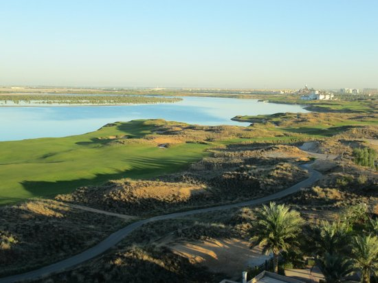 Park Inn by Radisson Abu Dhabi Yas Island:                                     Mangrove islands and Yas Links fields
