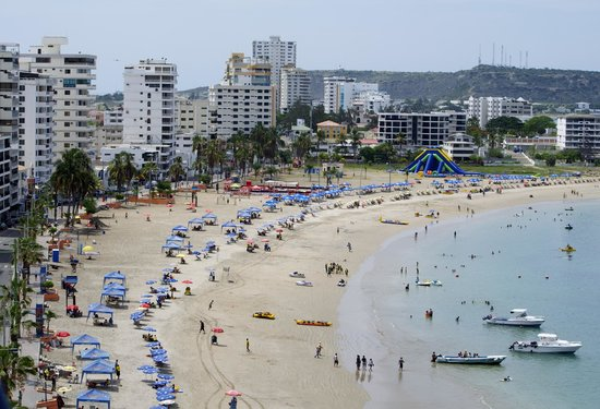 Barcelo Colon Miramar:                                     Salinas beach