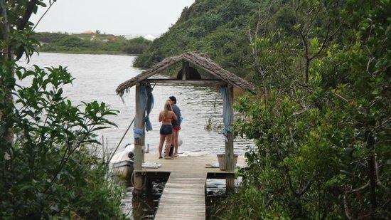 Solar Mirador Exclusive Resort & SPA:                   Deck do barquinho.