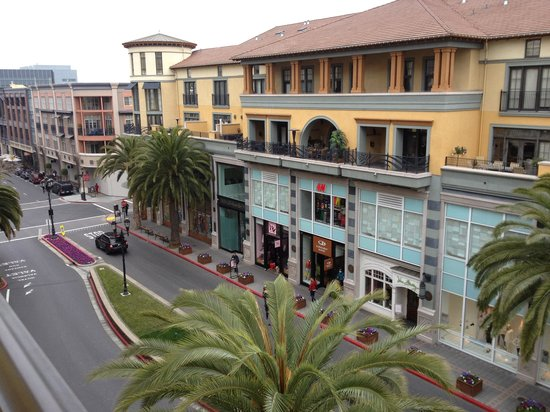Hotel Valencia - Santana Row :                   View from our room!