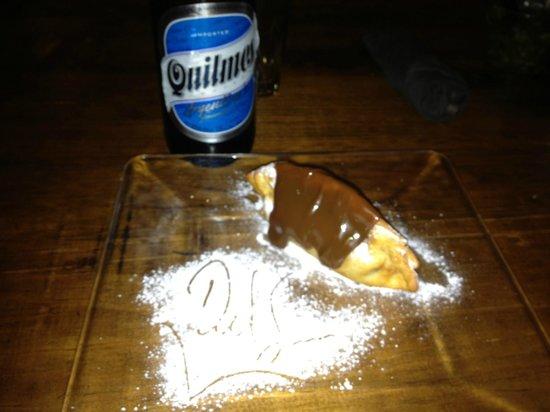 Del Sur Argentina Empanadas & Grill :                   The cervesa from Argentina is good too!