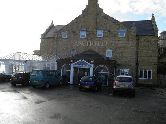 The Spa Hotel:                   entrance