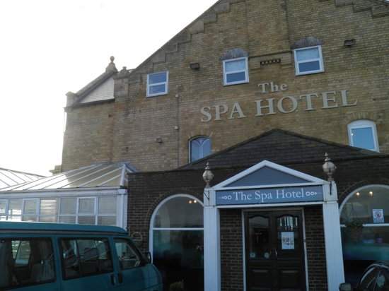 The Spa Hotel:                   a warm welcome