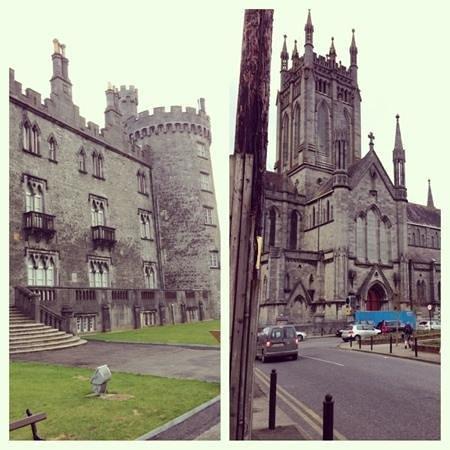 Kenmur House B & B:                   castle and church in town