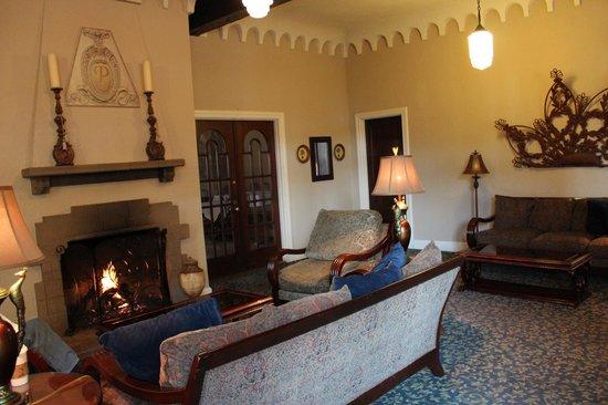 The Hotel Paisano:                   Lobby