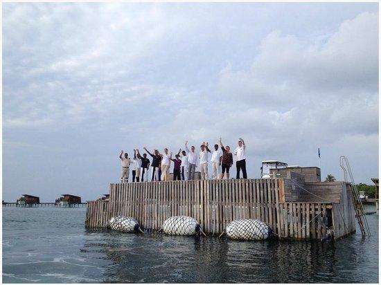 Park Hyatt Maldives Hadahaa: last day