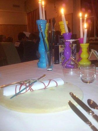 Hotel Olympia: tavoli di Camilla
