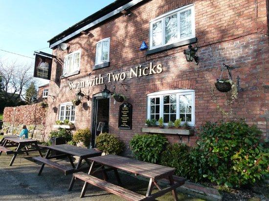 swan with two nicks altrincham restaurant reviews photos phone rh tripadvisor co uk