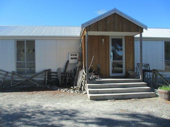 Omahau Downs: Front entrance