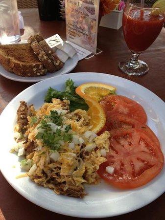J C's Patio Cafe: Machaca Breakfast