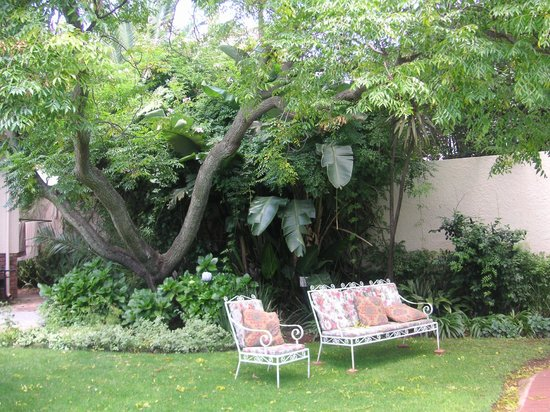 Bongela Bed and Breakfast:                   Garden side