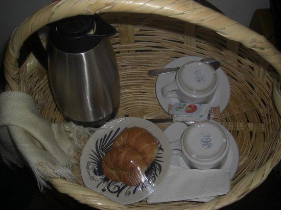 Hotel Ilebal:                   Der Frühstückskorb