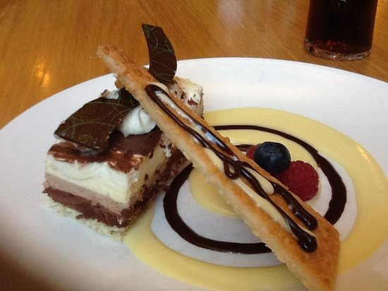 The BlueBell Hotel:                   Our afters yummy