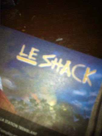 Le Shack: Menu