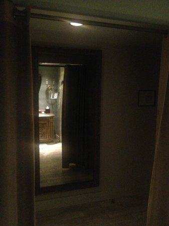 mirror in hallway of room - Picture of Grand Bohemian Hotel Asheville, Autograph Collection ...