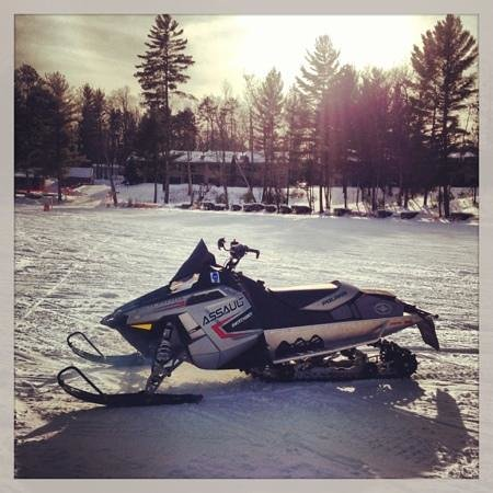 Black Bear Lodge: Polaris on the lake
