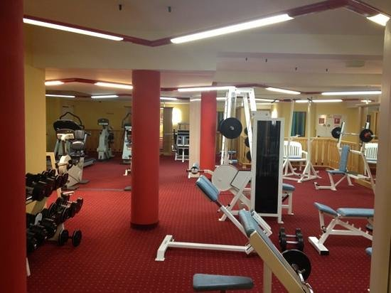 Aktiv & Spa-Resort Alpenpark:                   good quality gym