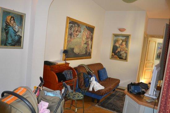 Dimore La Vecchia Firenze : soggiorno