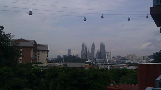 Resorts World Sentosa - Festive Hotel: view from story 5