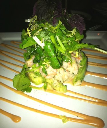 Bacchus Restaurant & Lounge:                   Crab