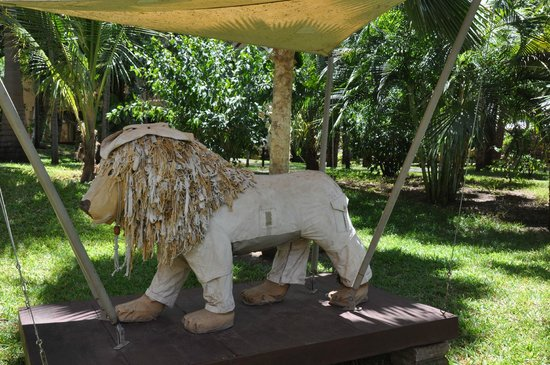 Almanara Luxury Villas: The lion in the garden