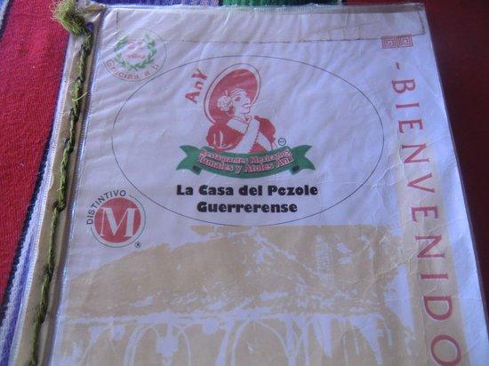 Tamales y Atoles Any:                   Die Karte