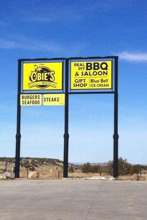 Colorado City, CO:                   Obie's Filling Station BBQ