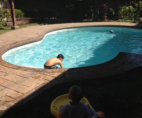 Hotel Leon:                                                       nice clean pool