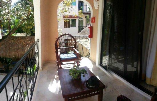 BRIC Hotel & Spa:                   Balcony