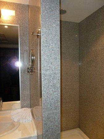 โรงแรมอีฟเบิร์คพรีเมียม:                   Ivbergs Premium Hotel re. Dusche