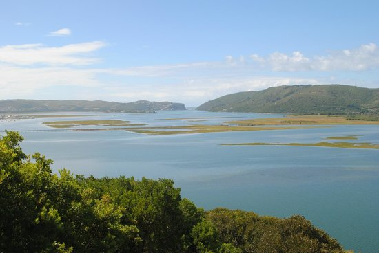 Kanonkop Guest House:                   Knysna Lagoon view from The Paradise Suite